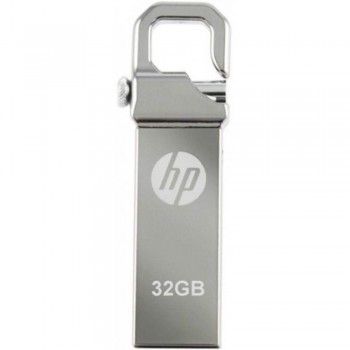 HP v250w Stainless Steel USB Flash Drive - 32GB