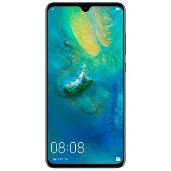 Huawei Mate 20 6.53 IPS Smartphone - 128gb, 6gb, 16mp + 12mp + 8mp, 4000mAH, Blue