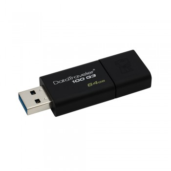 Kingston DT100G3 64GB USB 3.0 Thumbdrive