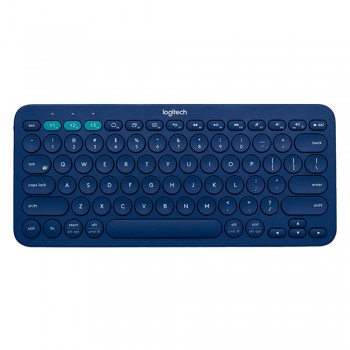 Logitech K380 Multi-Device Bluetooth Keyboard Blue