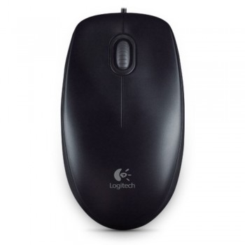 Logitech Mouse M100r - Wired Optical Mouse