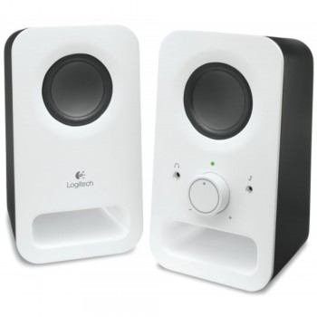 Logitech Multimedia Speakers Z150 - 2.0 Speaker System - White