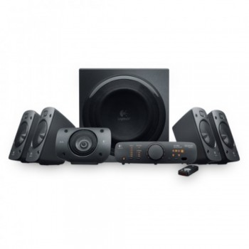 Logitech Speaker System Z906 - THX-Certified 5.1 System, 500W (RMS) Theater-Quality Sound