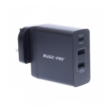 Magic-Pro ProMini 3TQC Travel Charger