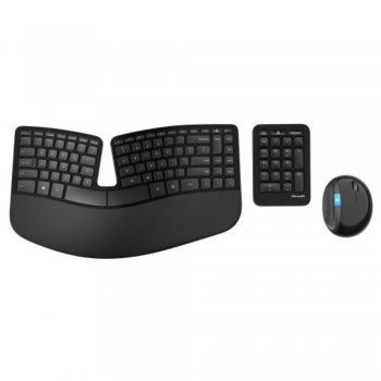 Microsoft Sculpt Ergonomic Desktop (Item No: MSL5V-00027)