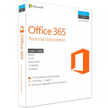Microsoft OFFICE 365 PERSONAL 32-BIT/x64 English (QQ2-00570) (Item No: GV160605211976)