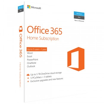 Microsoft Office 365 Home English APAC EM Subscr 1YR Medialess P2 (6GQ-00757) (Item No: GV160708211912)