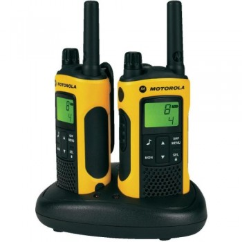 Motorola TLKR-T80EX Walkie Talkie - Black