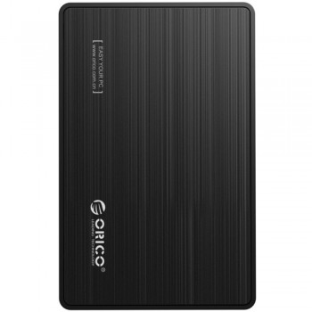 "Orico 2588S3 2.5"" SATA III Portable HDD Enclosure with USB3.0 cable (Black) (Item No: D15-02)"