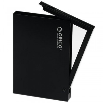 "Orico 2595US3 2.5"" USB3.0 SATA HDD Enclosure with protection case (Black) (Item No: D15-07)"