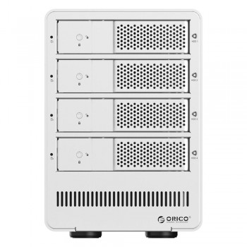 "Orico 9548RU3 4 Bay 3.5"" USB3.0 SATA HDD External Enclosure with RAID - Silver (Item No: D15-20)"