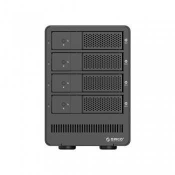 "Orico 9548U3 4 Bay 3.5"" USB3.0 SATA HDD External Enclosure - Black (Item No: D15-21)"