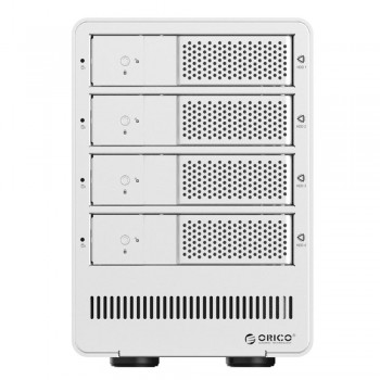 "Orico 9548U3 4 Bay 3.5"" USB3.0 SATA HDD External Enclosure - Silver (Item No: D15-22)"