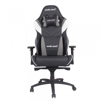 ANDA SEAT Gaming Chair Assasin King Series - Black + White + Grey