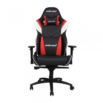 ANDA SEAT Gaming Chair Assasin King Series - Black + White + Red