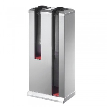 Stainless Steel Automatic Double Umbrella Stand