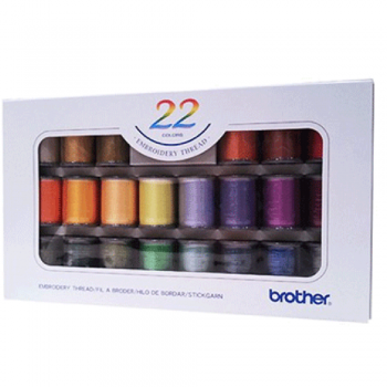 Brother ETS-22N 22 color embroidery thread
