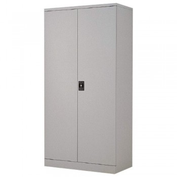 Full-Height Steel Cupboard LX33C - Swing Door with 3 Shelves