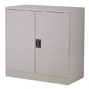 Half-Height Steel Cupboard LX32C - Swing Door with 1 Shelve
