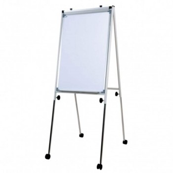 Conference Flip Chart FC34R - 148-200H x 96W x 61-98D - White (Item No: G05-21)