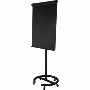 Executive Flip Chart EX71B - 163-195H x 72W x 60D - Black (Item No: G05-27)