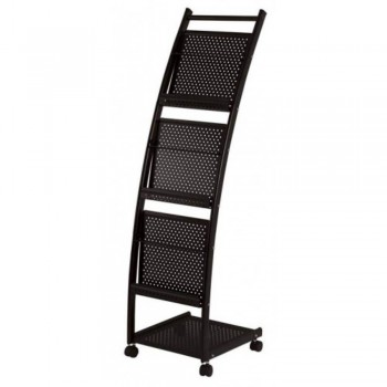 Newspaper & Magazine Rack MR1601 - 480W x 350D x 1080H (Item No: G05-75)