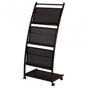 Newspaper & Magazine Rack MR1602 - 310W x 350D x 1080H (Item No: G05-69)