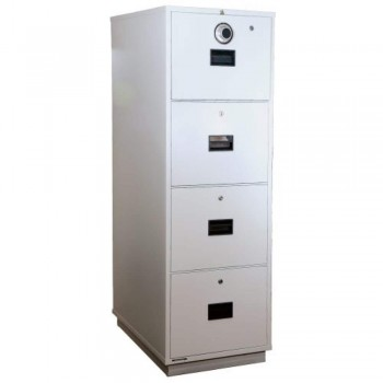 LION Fire Resistant Cabinet RP4 - 4-Drawer