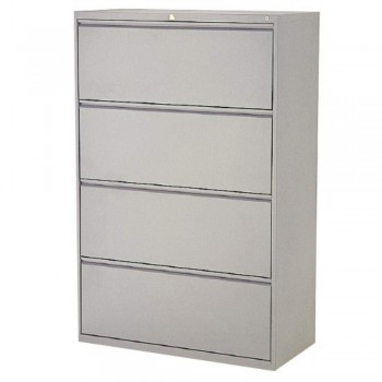 LION Lateral Filing Cabinet LF4D - 4-Drawer