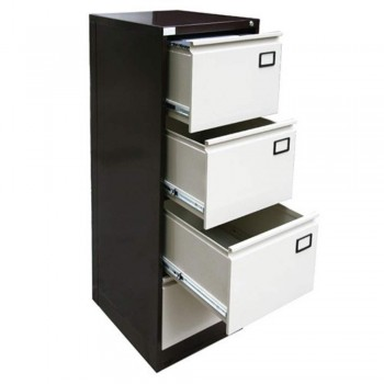 Steel Filing Cabinet LX44GN - 4-Drawer