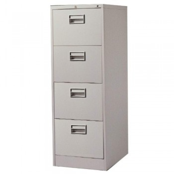 Steel Filing Cabinet LX44PS - 4-Drawer