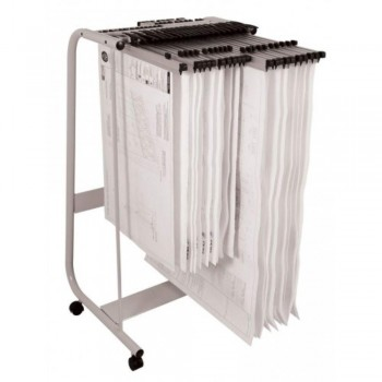 Plan Hangers Stand PHS288 - Front Loading - A1, A0 Size - (Hanger Clamps Sold Separately)