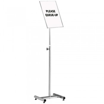 S.Steel Sign Board Stand A3 SBS-057/SS (Item No: G10-194)