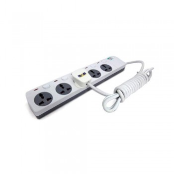 Home Shield High-grade Multifunctional Socket - Surge Protection - Fire Retardant (Item No: HS-5GANG) A7R1B38