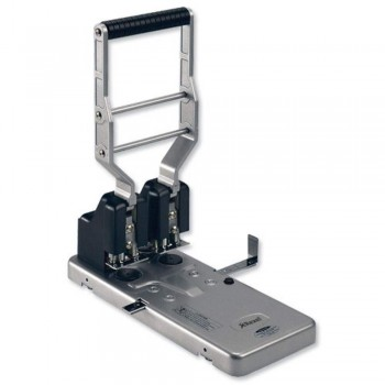 Rexel HD2150 Punch - Heavy-duty 2-Hole Robust Metal, Capacity 150x 80gsm (Item No: G11-04)