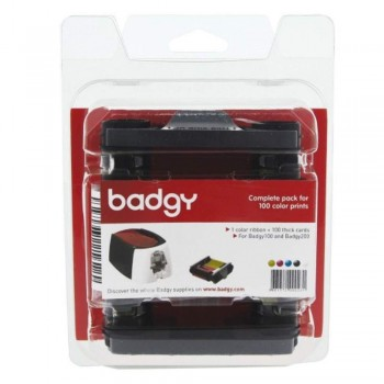 Badgy Consumable 1 Color Ribbons -  VBDG204EU
