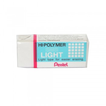 Pentel ZEL08 Hi-Polymer Pencil Light Eraser - M