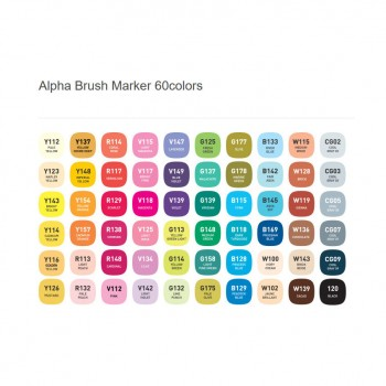 Alpha Brush Marker 120