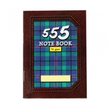 555 Captain Note Book-Thick (Brown) NB-0130-BR