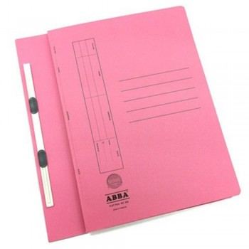 ABBA TRANSFER FILE 102(ST) 2 CLIPS PINK