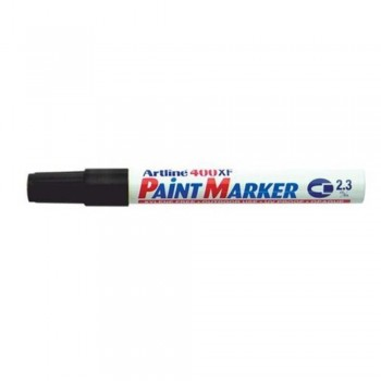 Artline 400XF Paint Marker Pen - 2.3mm Bullet Nib - Black