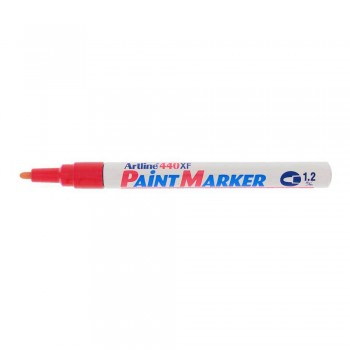 Artline 440XF Paint Marker 1.2mm - Red