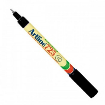 Artline 725 Marker Pen - Black