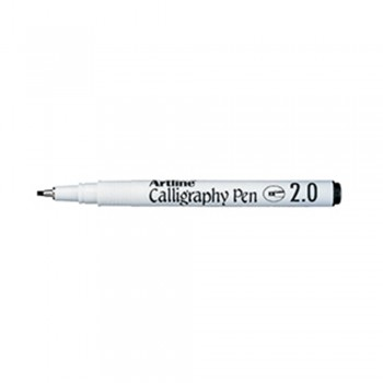 Artline EK-242 Calligraphy Pen 2mm - Black