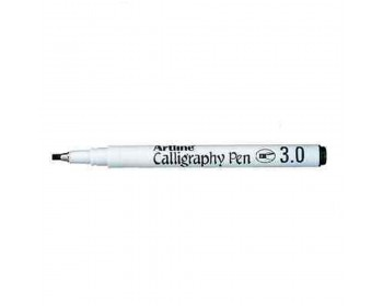 Artline EK-243 Calligraphy Pen 3mm - Black