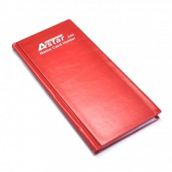 Astar Name Card Holder - 240'S Red