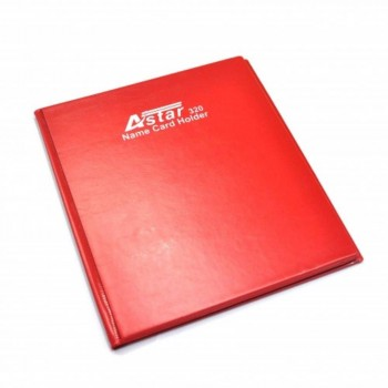 Astar Name Card Holder - 320'S Red
