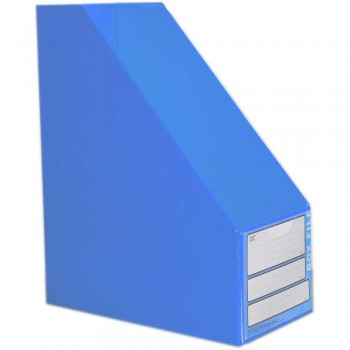 "CBE 06813 5"" PVC Box File (A4) BLUE"