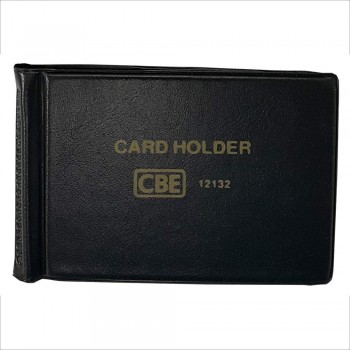 CBE 12180 PVC Name Card Holder - Black (Item No: B10-145BK) A1R3B122