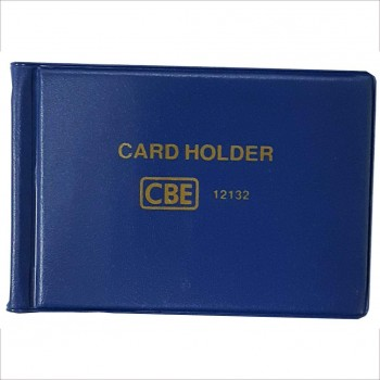 CBE 12180 PVC Name Card Holder - Blue (Item No: B10-145BL) A1R3B122